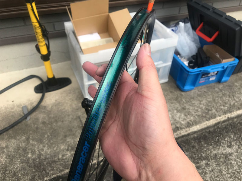 ミニベロ451サイズのリムテープ交換方法