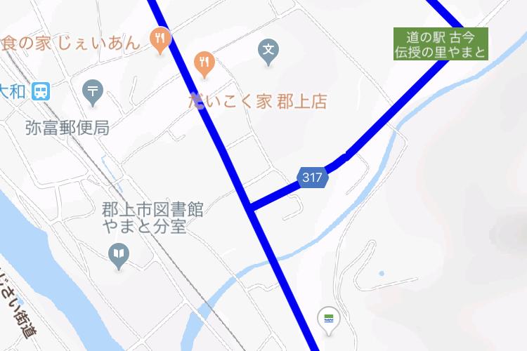 ルートラボのルートをGoogleマップに表示する方法