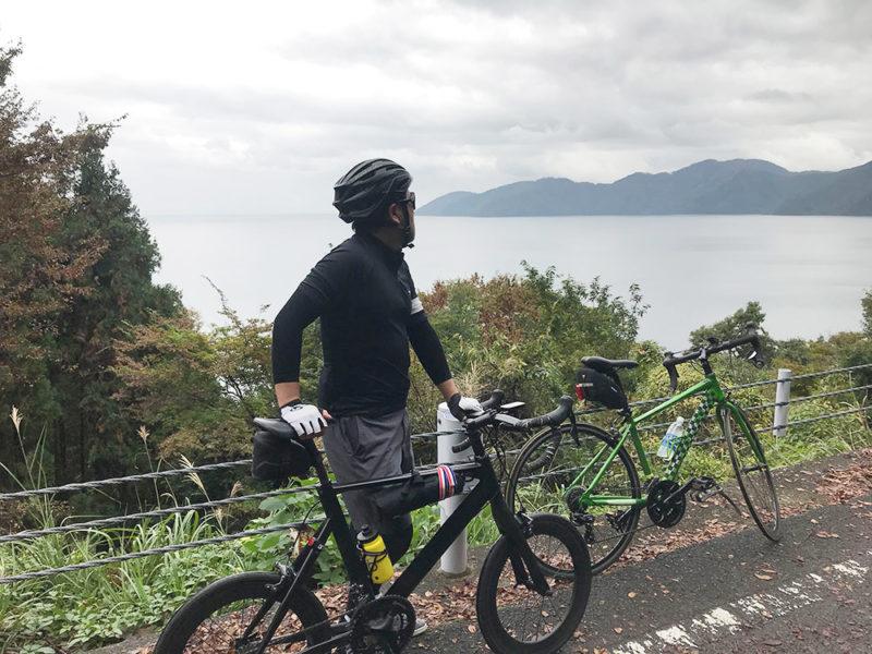 ミニベロでビワイチ(北湖)1周をしてみる!【走行編】