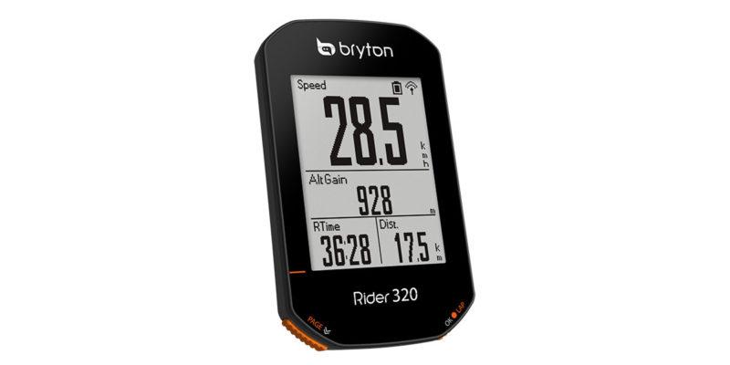 はじめてのサイコンにおすすめBryton Rider320